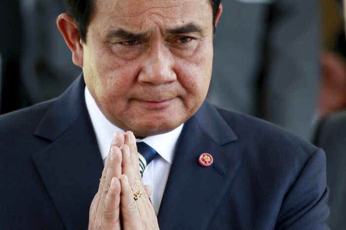 Thai Prime Minister Say's he Won't Tolerate Biased Criticisms from Irresponsible Journalists
