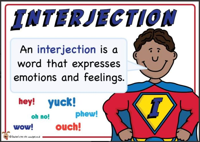 Jen's English Tip's – Interjections