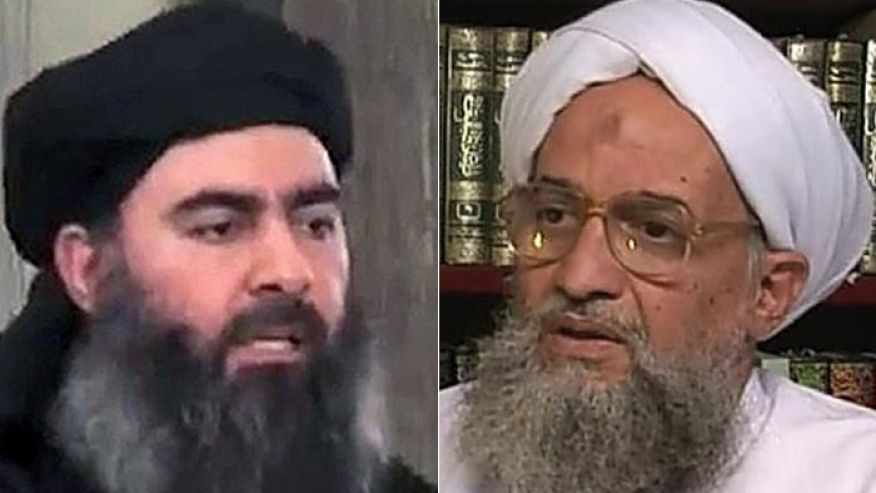 Al Qaeda 'declares war' on ISIS as 9/11 terror group boss blasts rival for declaring himself leader of all Muslims