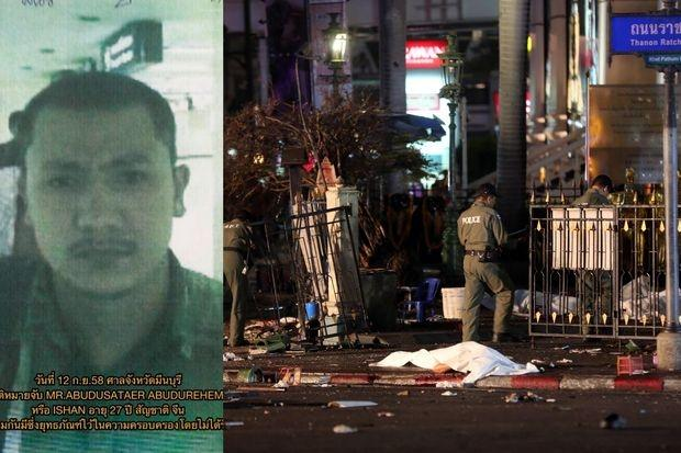 "An arrest warrant has been issued for the man known as ""Ishan"", believed by police to be one of the key figures behind the deadly Erawan shrine bombing in Bangkok. - Photo Bangkok Post"