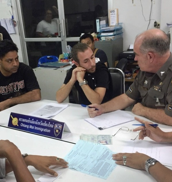 36-year-old Alon Ben Dor was issued an arrest warrant by the Pathumwan Municipal Court - Photo City News