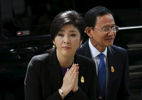 Thailand's ousted PM Yingluck Shinawatra files criminal case against opponents