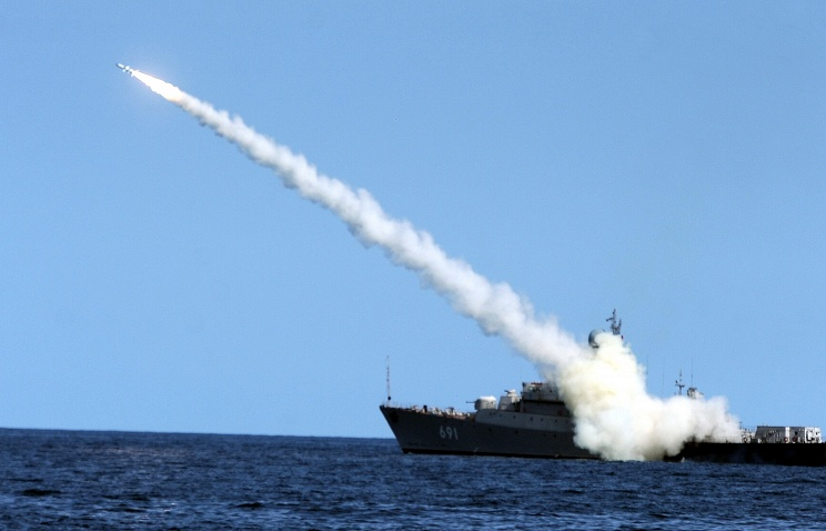 Caspian Flotilla ships fire 26 cruise missiles on IS targets in Syria