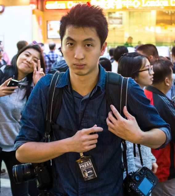 Anthony Kwan Hok-chun was held on 23 August after trying to leave from Bangkok�s Suvarnabhumi airport with protective gear in his hand luggage