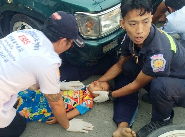 4 Year Old Boy Survives Tragic Motorcycle Accident in Phuket