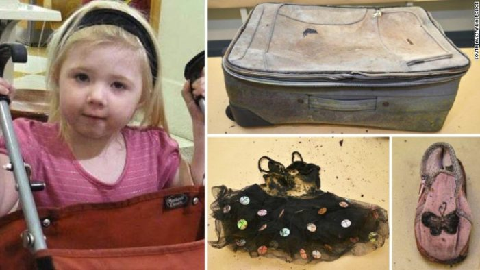Australian Police Finally Identify Body Two Year Old Girl Found Discarded on a Highway in 2010