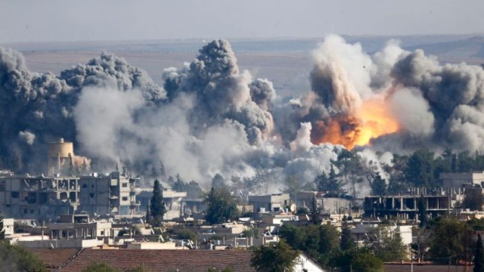 Russian Airstrikes Hit Deep into ISIS-Controlled Areas