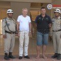 Mr Scotcher is reported to have fled Cambodia to Britain after the two men threatened to kill him if he informed Cambodian police.