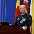 China's naval commander told his U.S. counterpart that a minor incident could spark war in the South China Sea