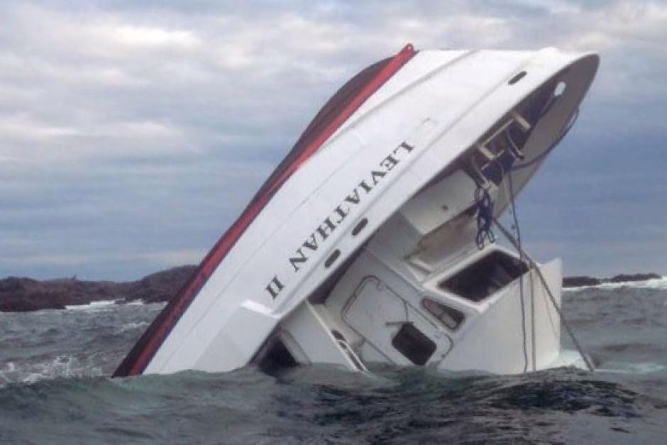 Whale-watching boat carrying 27 sinks off Canada's British Columbia, killing five people, one missing
