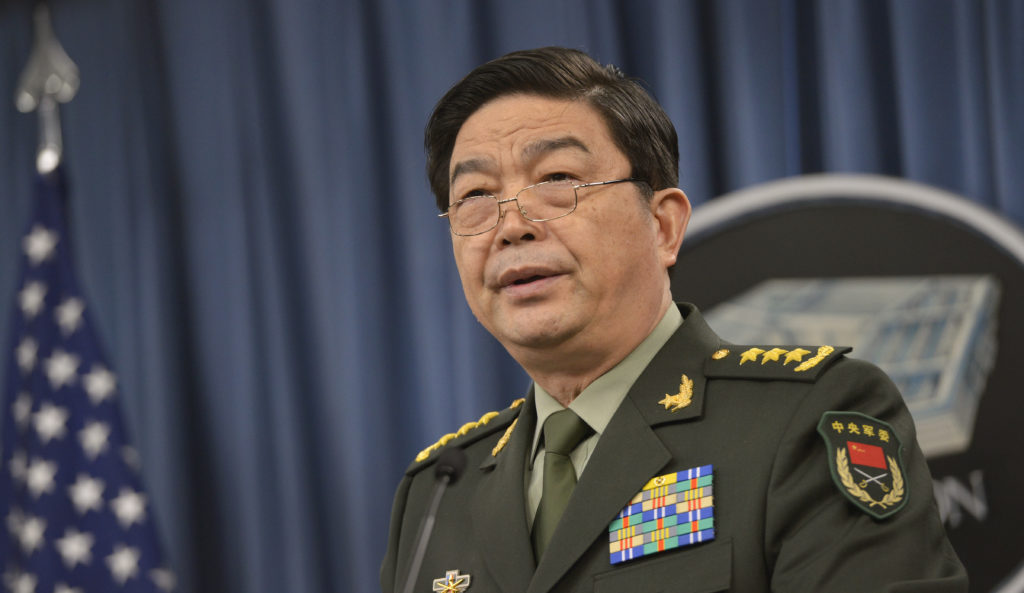 China's Minister of National Defense Gen. Chang Wanquan answers reporters' questions.