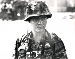 Associated Press photojournalist Nick Ut in South Vietnam