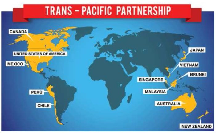 Junta Cautions Trans-Pacific Partnership as Thai Economy Continues to Struggle