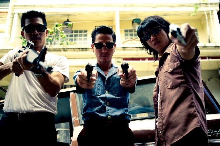 Photo from 1960's Thai Gangster Film ANTAPAL