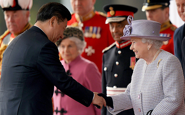 China's President Xi Jinping Gets Royal Welcome in London