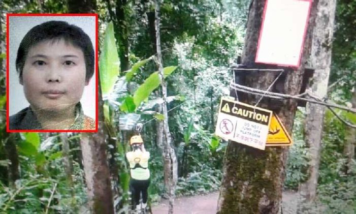 Tourist Killed at Chiang Mai Zip-line, Staff Fabricate Cause of Death