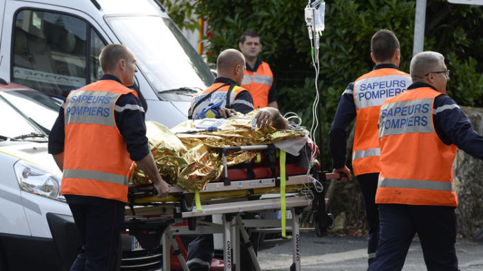 [VIDEO] – Tour Bus Collides with Truck Killing 42 Elderly Passengers in France