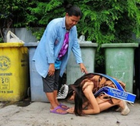 Humble Garbage Collecting Teen Win's Thai Beauty Contests