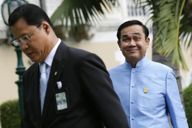 Gen Prayut Say's He's Avoiding Press Appearances to Reduce Social Conflict