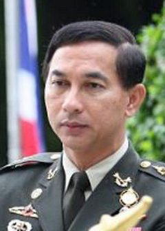 Col Khachachart: Charged with lese majeste, fled to Myanmar