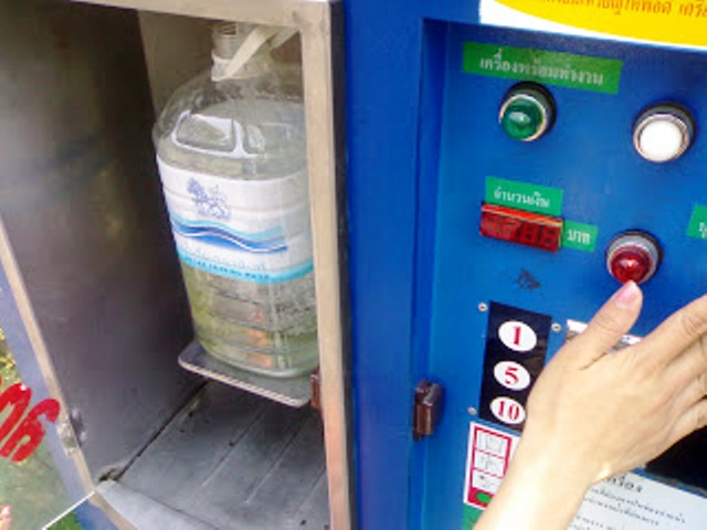 Water Unsafe to Drink in Many of Vending Machines in Bangkok