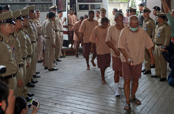 88 Suspects Face Human Trafficking Charges in Bangkok Court