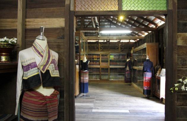 The Lue Lai Kham Museum displays rare Tai Lue textiles from the north of Thailand and neighbouring countries
