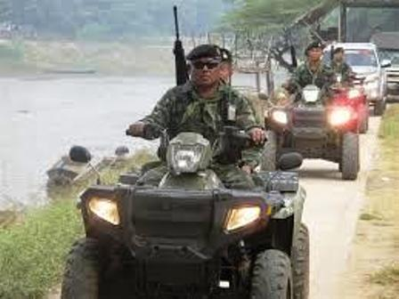 Chiang Rai's Border Troops Prepare for Possible Unrest after Myanmar Election