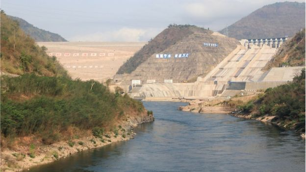 China, whose Nuozhadu hydroelectric dam went online in 2012, houses roughly half of the world's tallest dams