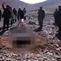 A young Afghan woman was stoned to death after being accused of adultery