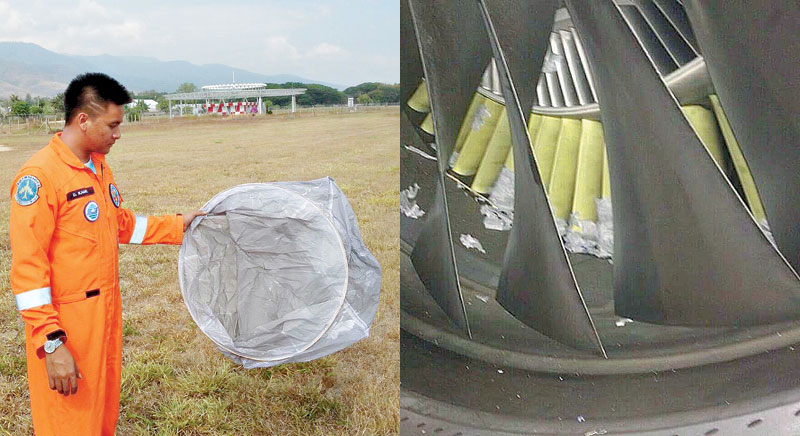Sky Lanterns are extremely dangerous to Airplanes.