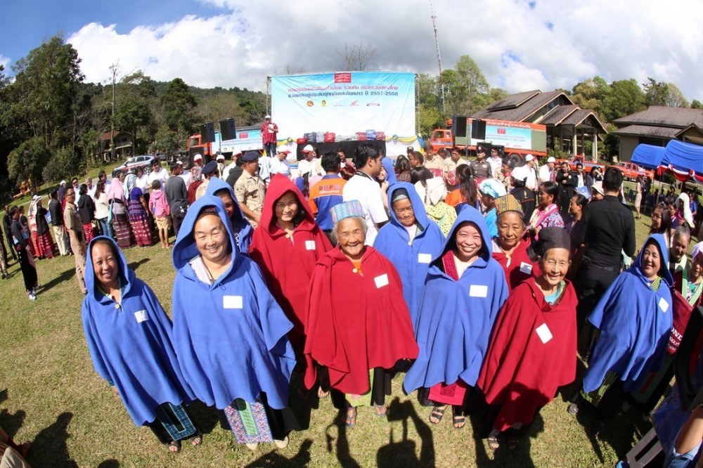 The winter clothing caravan will make a stops in Chiang Rai