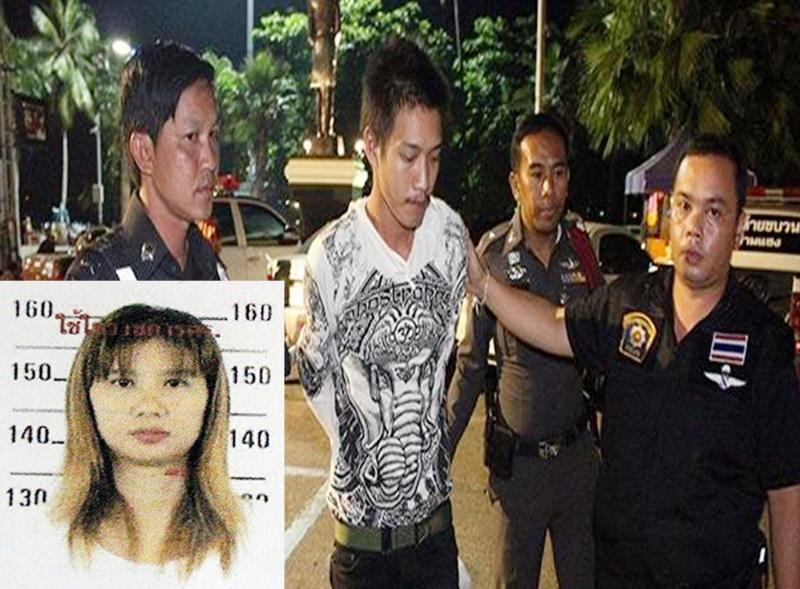 Private Santirat aged 21, was detained at the scene and taken to Pattaya Police Station