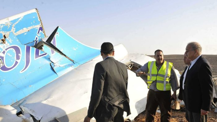 Russian Official Say Metrojet Broke up in Mid Air over Egypt