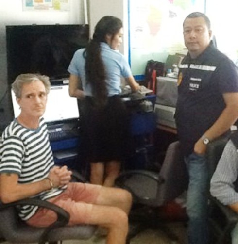 American Christopher William Parker Arrested in Pattaya for U.S. Assault Charges