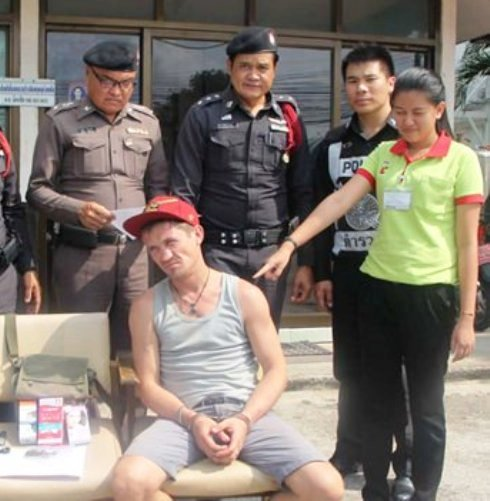 Ukrainian and Brazilian Busted for Shoplifting and Burglary in Pattaya