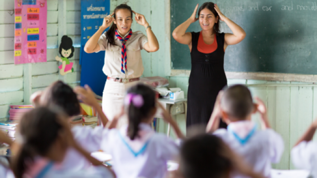 Thailand's Education Ministry Seeks to Eliminate it's Dependency on Foreign English Teachers