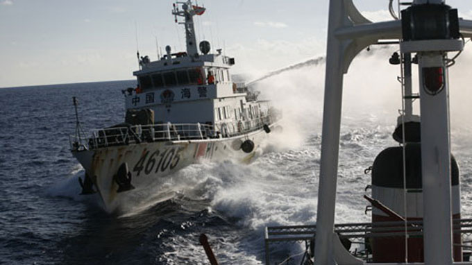 Chinese vessel rams Vietnamese ship