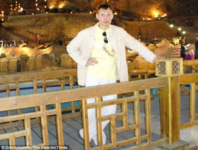 Oleg Yuzhikoy, 37, died immediately from a 'broken skull' and his 'pregnant' wife Svetlana Ivanova, 31, suffered life-threatening injuries