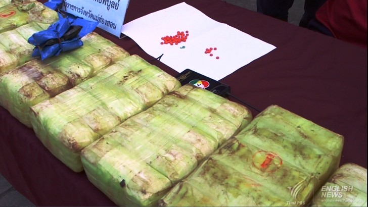 Police and army troops seized 195,000 methamphetamine tablets - Thai PBS