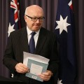 """Attorney-General George Brandis, however, said Friday that the legislation would apply in """"very limited circumstances."""""""