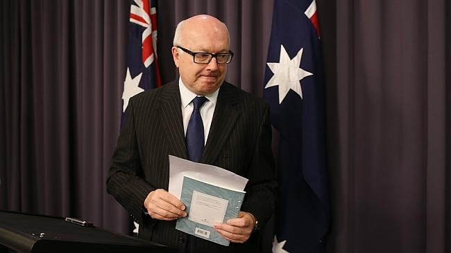 "Attorney-General George Brandis, however, said Friday that the legislation would apply in ""very limited circumstances."""