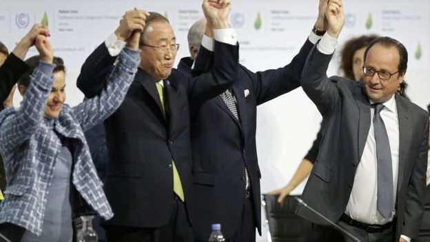 195 Nations Approve Landmark Climate Accord in Paris