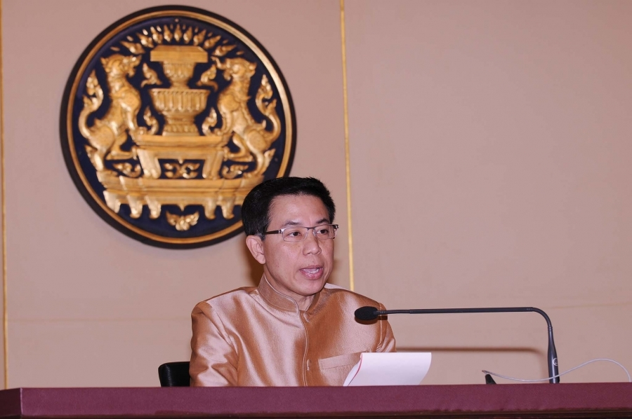 Government Spokesman Sansern Kaewkamnerd