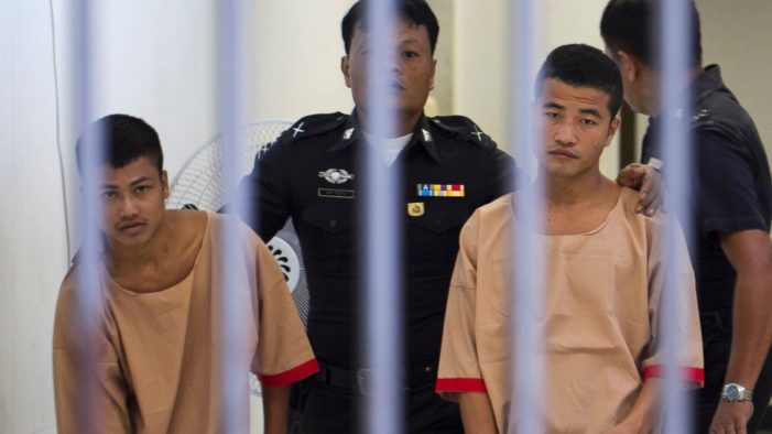 Death Sentence for Migrant Workers Accused of Murdering of British Tourists on Koh Tao