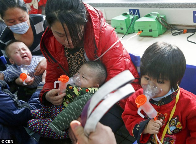 The situation has been particularly bad for young children and babies who struggle