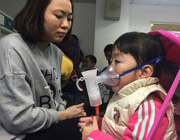 Beijing Children's Hospital, has seen an increase in respiratory system diseases among youngsters