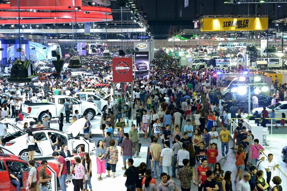 Crowded Thailand 32nd International Motor Show