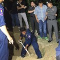Police found Schneider body burred in a woodland area out of Pattaya