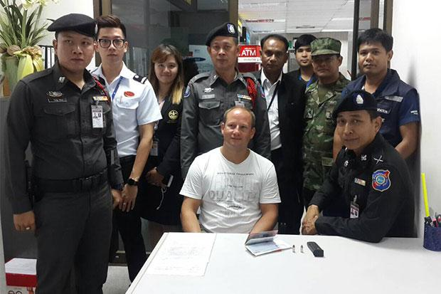 Swiss National Arrested at Phuket Airport with 9mm Bullets in his Baggage